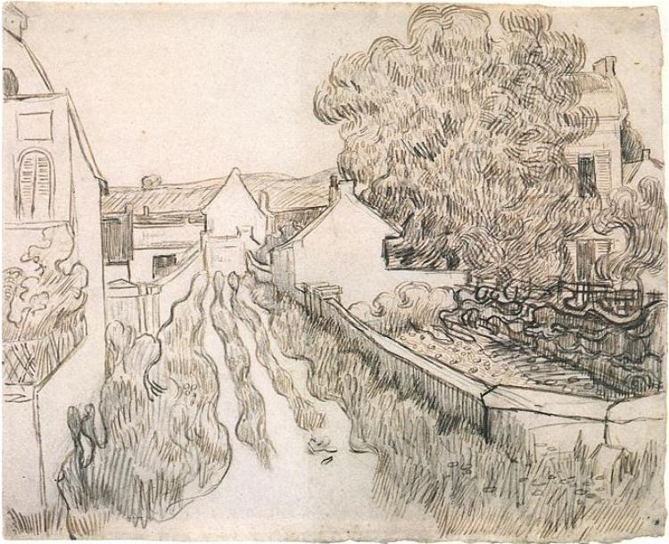 Drawing At Duke Sara Adam Vincent Van Gogh