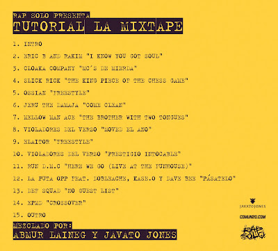Rap Solo Presenta Tutorial La Mixtape