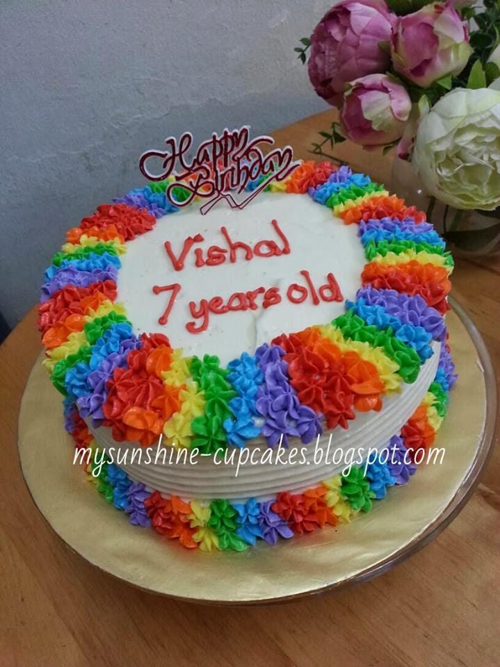 Birthday Cake Image Vishal : Mysunshine Cake: February 2014