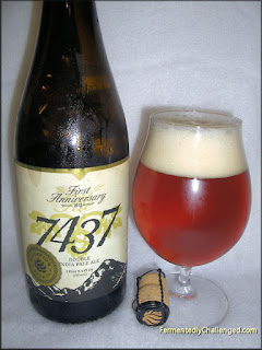 Elevation Beer Company 7434 Double India Pale Ale