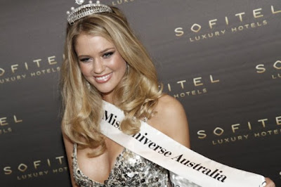 Scherri Lee Biggs,Miss Universe Australia 2011, Miss World