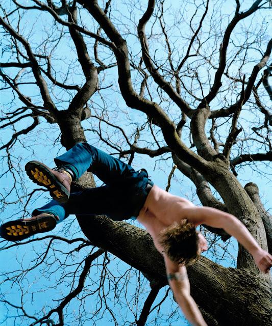 Kerry Skarbakka: The Struggle to Right Oneself - Blue Tree