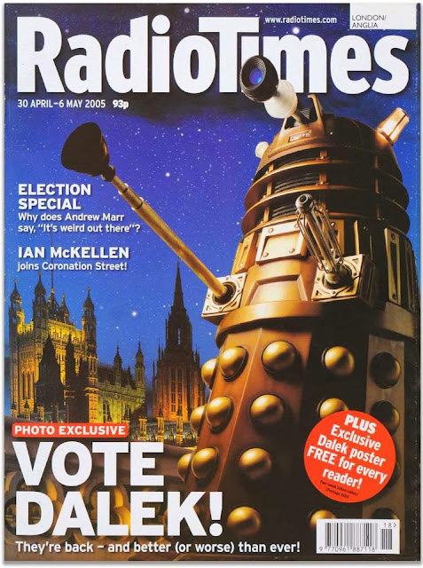 Radio Times - Doctor Who - Vote Dalek