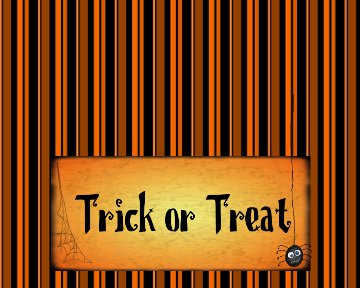 Free Knitting Pattern 40365 Halloween Trick-or-Treat Bag