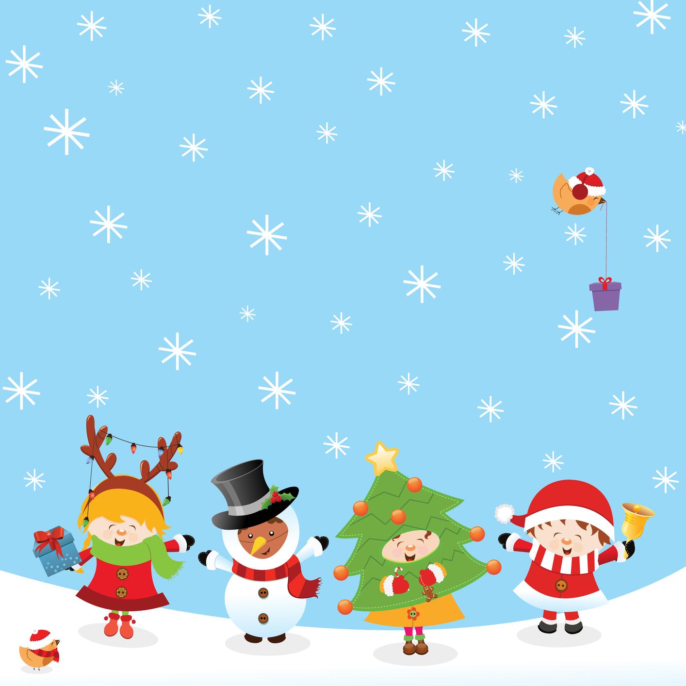 BANCO DE IMGENES Tarjetas de Navidad para escribir mensajes