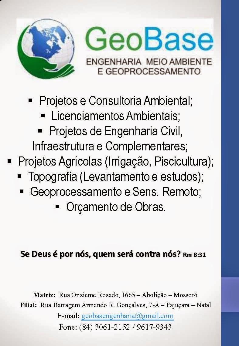 GeoBase: ENGENHARIA MEIO AMBIENTE E GEOPROCESSAMENTO