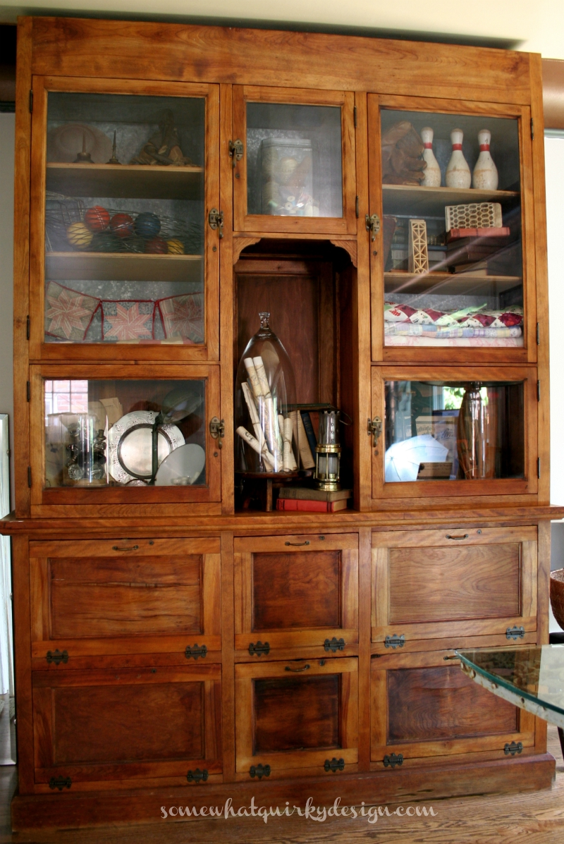Somewhat Quirky: An Antique Humidor