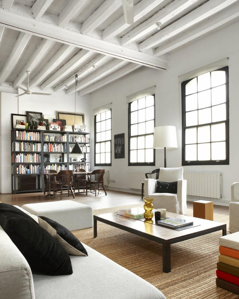 New York Loft Apartment Design Ideas