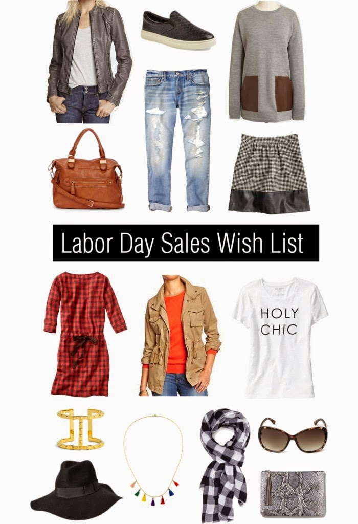 Labor Day 2014 Sales and Wish List
