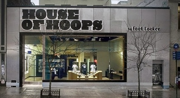 Loja de tênis House of Hoops by Foot Locker em Nova York