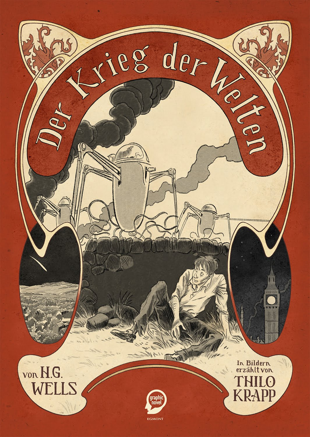 "Neu: ""Der Krieg der Welten"" Graphic Novel / New: 'The War of the Worlds' Graphic Novel"