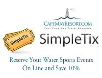 Reserve Cape May WaterSports Tickets On Line