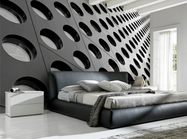 Dormitorios con murales ideas para decorar dormitorios for 3d tapeten schlafzimmer