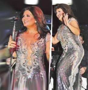 Ünlü şarkıcı sibel can dün gece günay adlı mekanda sahne