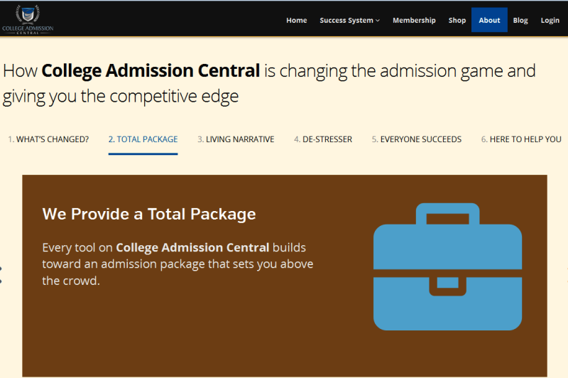 trused college application counselors