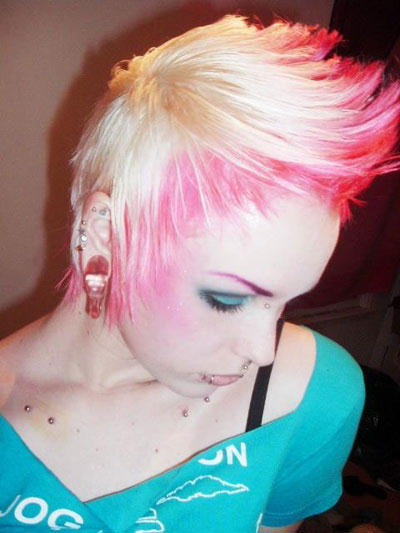 Short Medium Long Hairstyles for Girls: Punk Rock Hairstyles Рок Стрижки