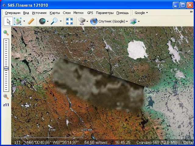 SASPlanet maps google