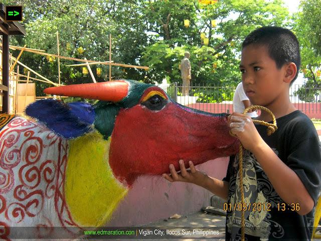 Carabao Painting Vigan