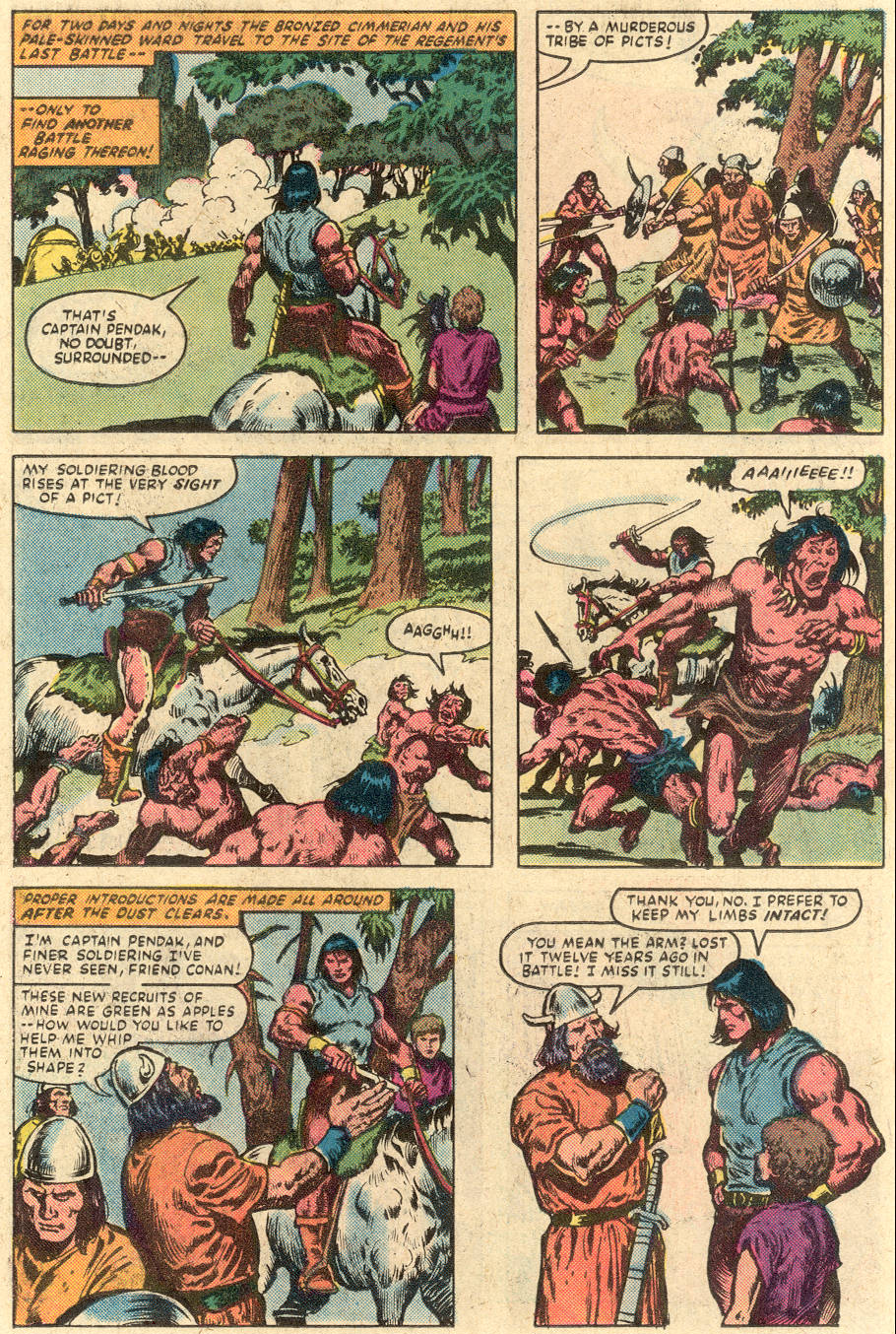Conan the Barbarian (1970) Issue #149 #161 - English 8