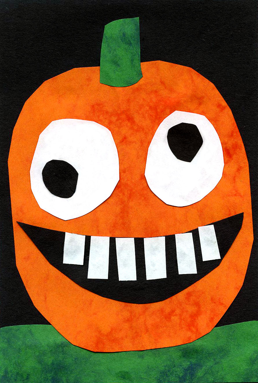 It is a photo of Lively Pumpkins Crafts for Kids