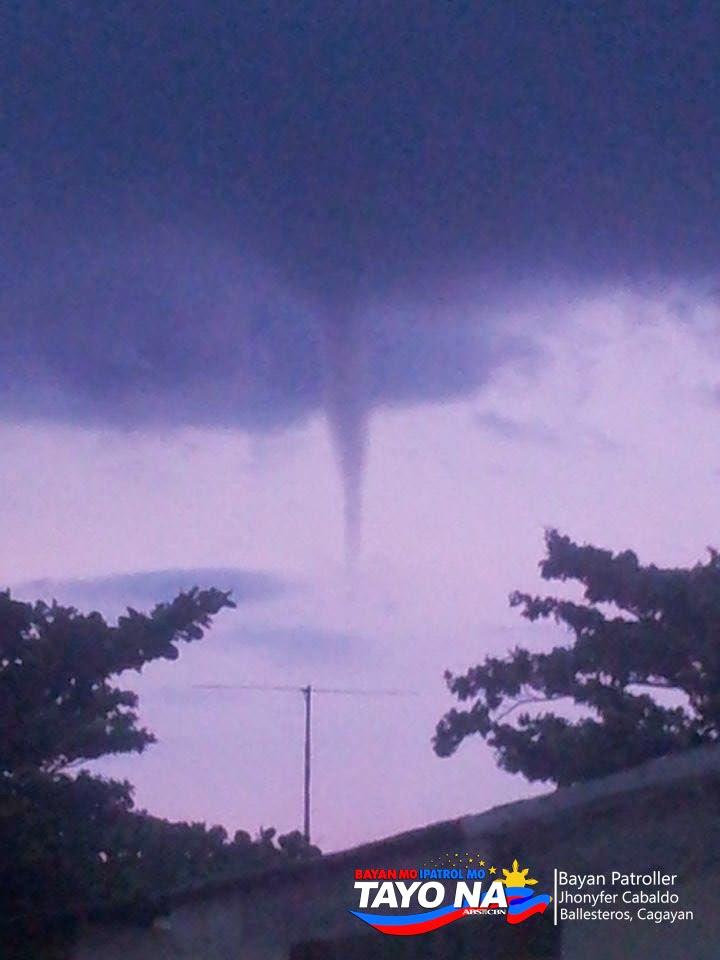 Tornado in Cagayan