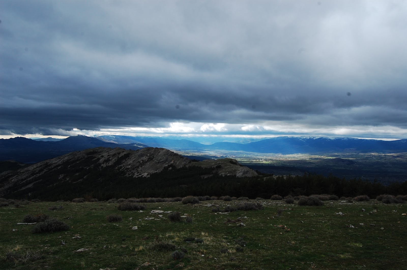 Blog Go Tandem - Panorámica Valle del Lozoya