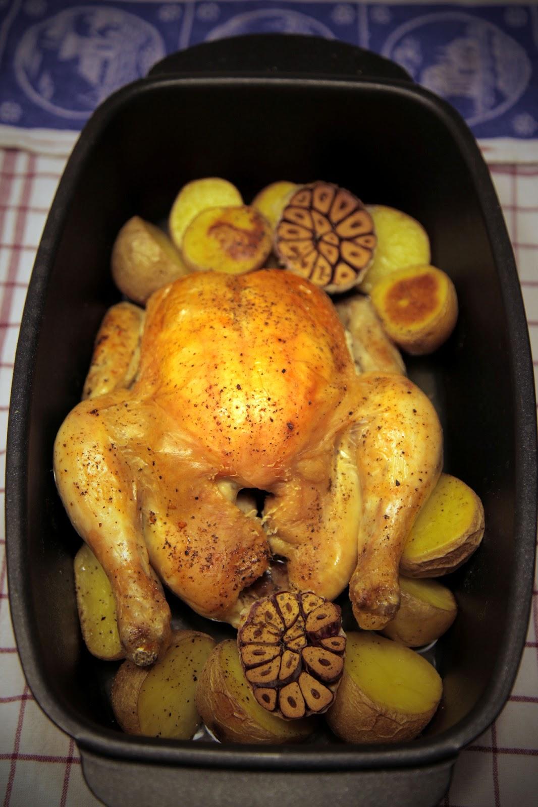 Huhn mit Kartoffeln nach Donna Hat