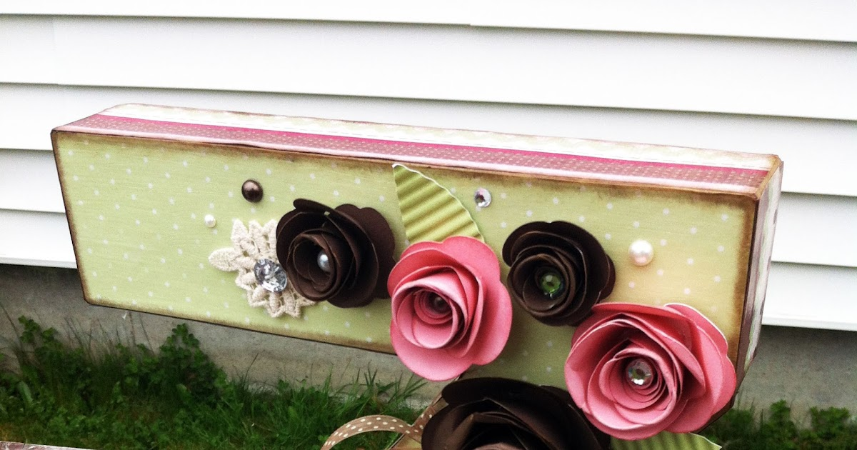 Playing with paper ctmh scrapbooks cards diy shabby for 3 foot cardboard letters