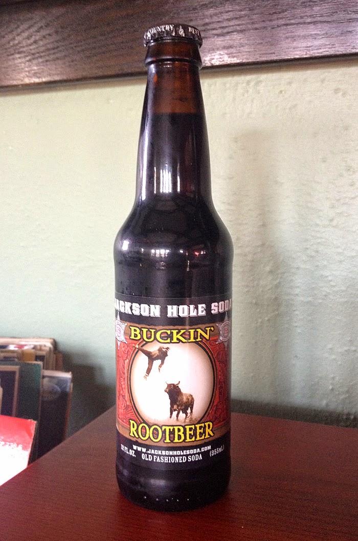 Jackson Hole Soda Buckin' Root Beer