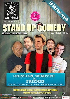 stand-up comedy marti bucuresti
