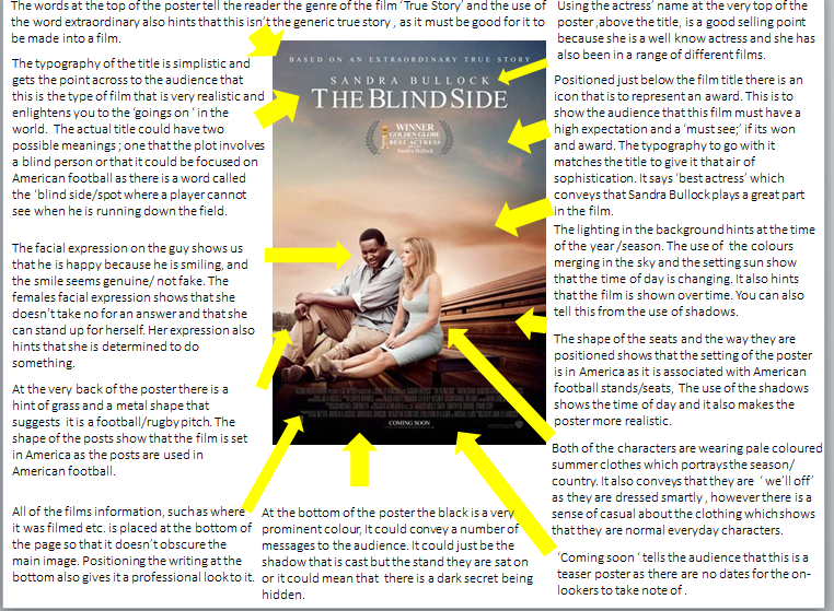 the blind side belonging essay example