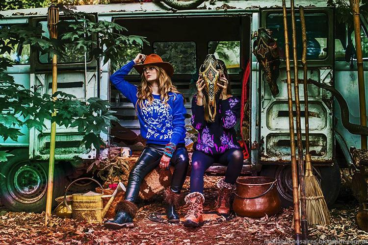 Sweters tejidos invierno 2014 Skiva colección, moda casual femenina en prendas tejidas.
