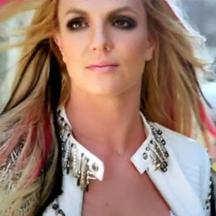 Britney Spears Multi Colored Hair