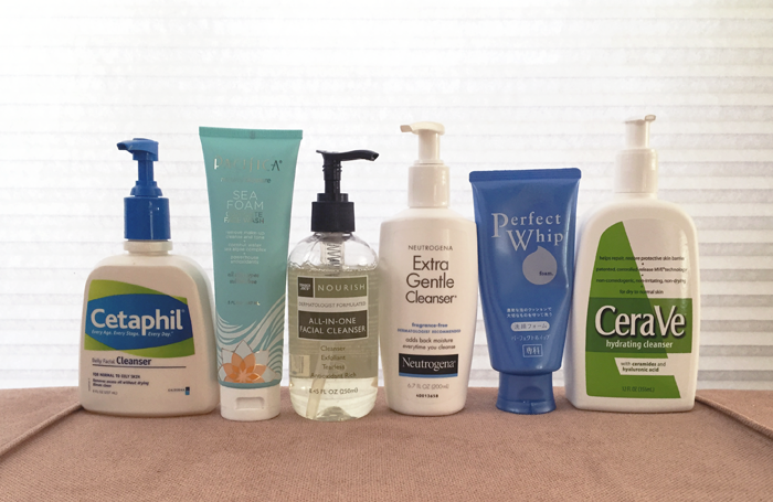 Is my cleanser causing my acne? :: 10 Cleanser Types