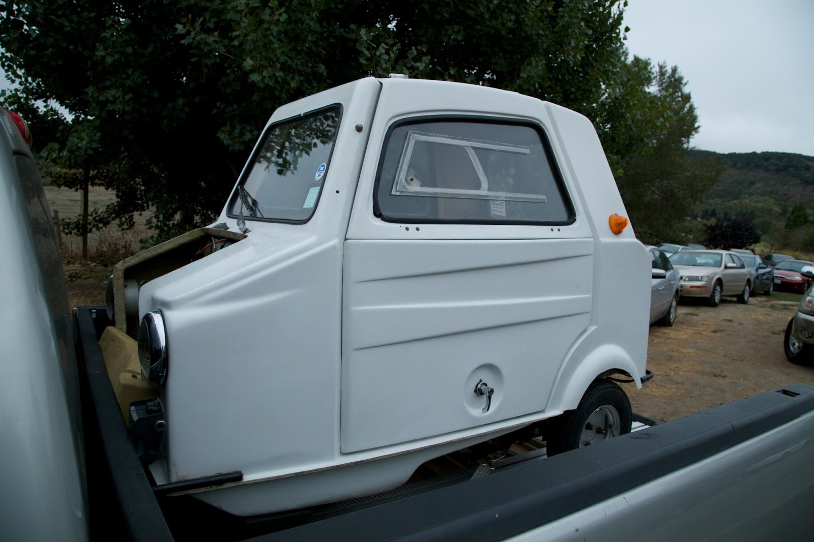 1975 Mini Comtesse Microcar.