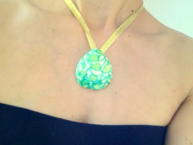 get crafty diy craft sea shell necklace pendant