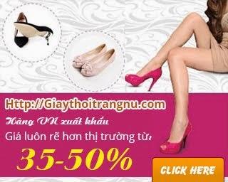 Giày nữ xuất khẩu