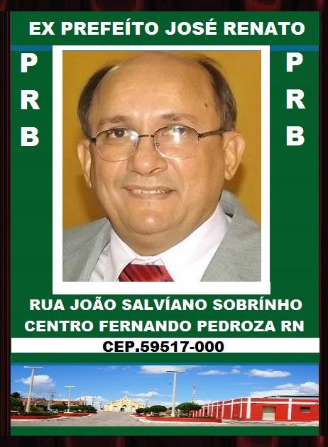 EX PREFEÍTO JOSÉ RENATO F. PEDROZA