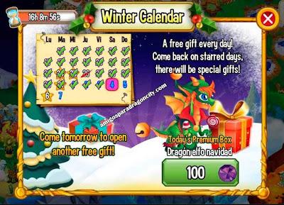 imagen del premium box del dragon elfo de navidad