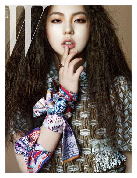 Sohee(Wonder Girls) สุดชิคในนิตยสาร 'W Korea'