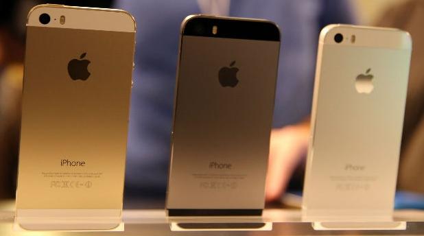 iphone 5s apple dorado plata