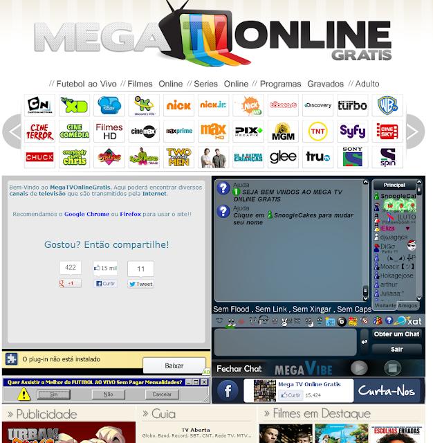 theme mega tv online gratis