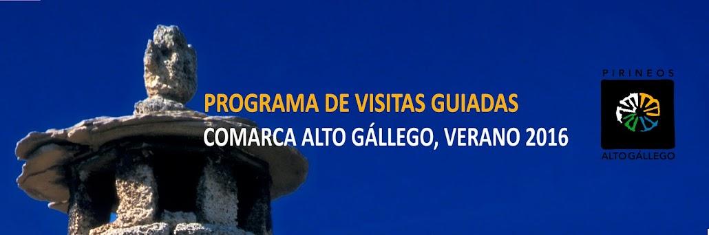 Programa Visitas Guiadas Comarca Alto Gállego 2016
