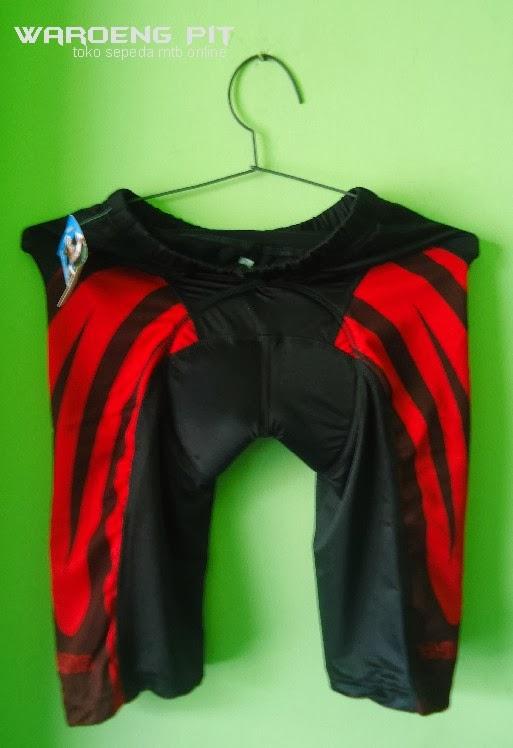 jual celana sepeda balap mtb gunung roadbike jalan raya murah terjangkau dan terpercaya merah