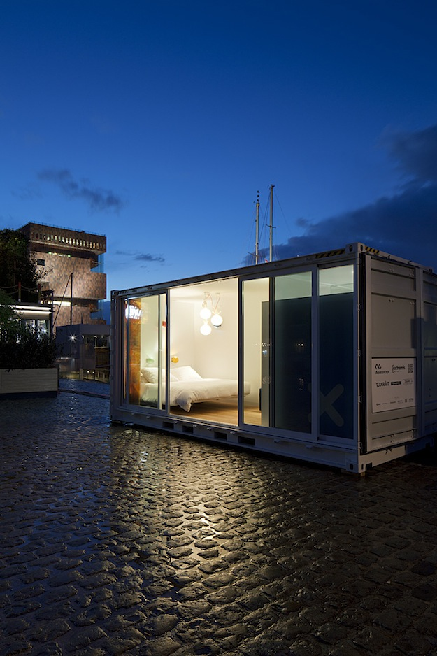 Shipping container homes 20 ft shipping container hotel for 20 rooms hotel