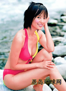 Fu Tian Ying Taiwanese Sexy Actress Sexy Swimsuit Photo 7