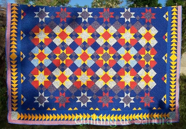 """Quilt """"Estrellas del Sur"""" vista total"""