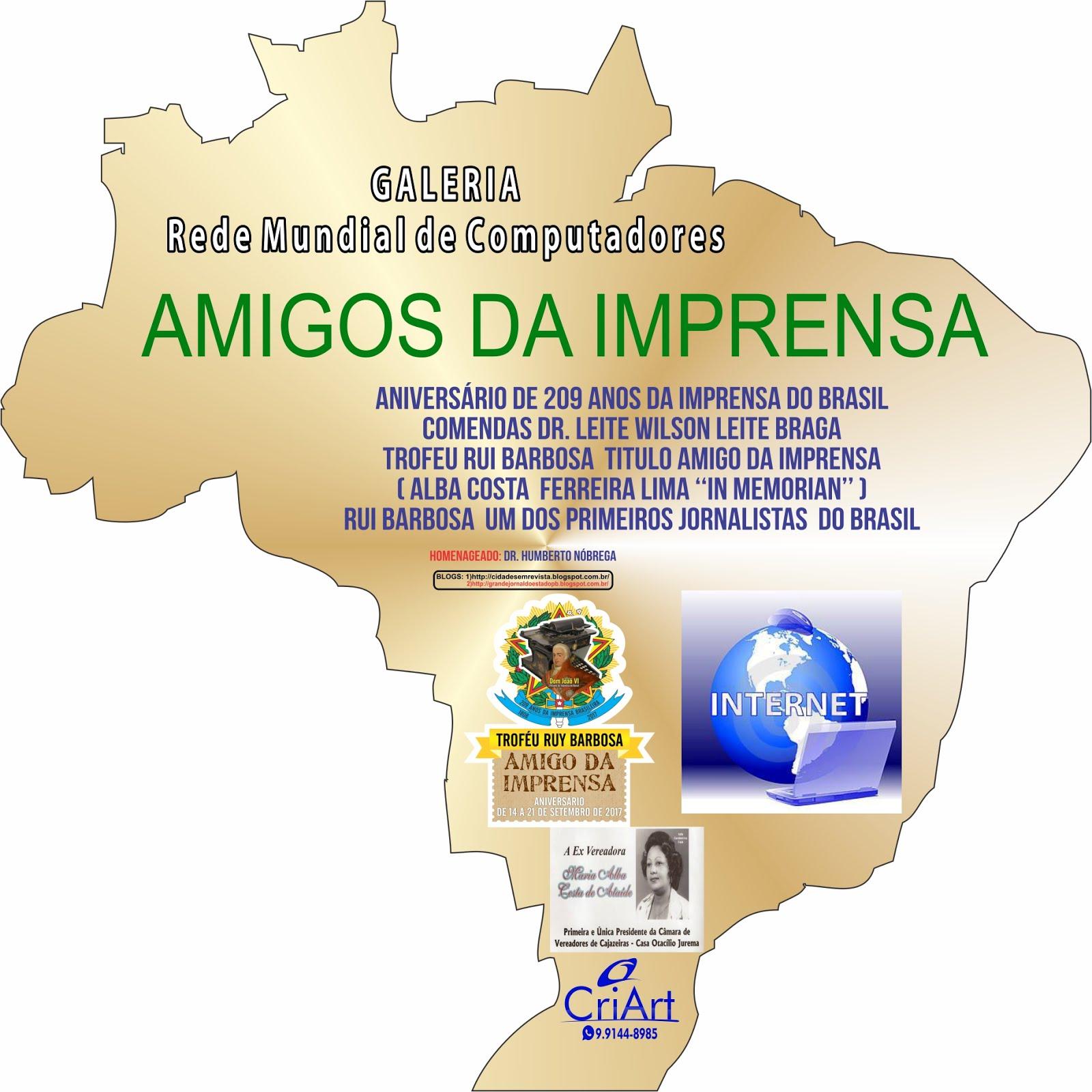 MODELO  DE UMA DAS COMENDAS  DA COMEMORAÇÃO O AMIGO DA IMPRENSA