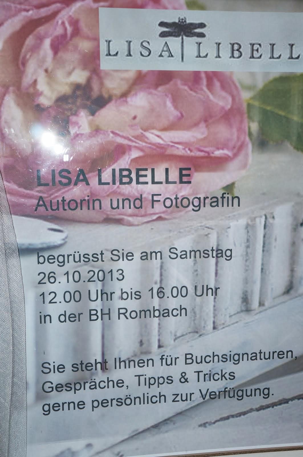 LISA LIBELLE in der BH Rombach D-79098 Freiburg i.B.