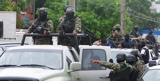 VER | Enfrentamiento de fuerzas armadas en Xalapa
